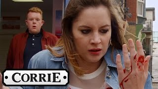 Kylie Is Stabbed In The Chest - Coronation Street