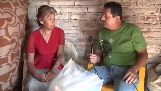 Entrega de despensas a personas necesitadas de San Agustin municipio de Jamay Jalisco