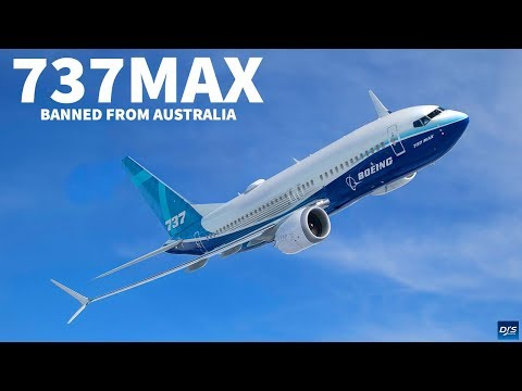 Boeing 737 MAX Banned from Australia