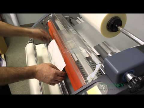 Laminating Series - Single Side Hot Laminating With RSL2702S (2/6)