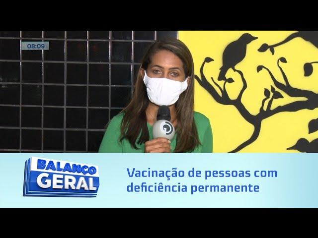 Vacinação em Maceió: Pessoas com deficiência permanente e trabalhadores da educação básica