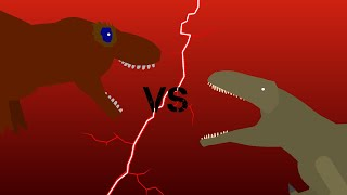Tyrannotitan vs Tyrannosaurus Rex