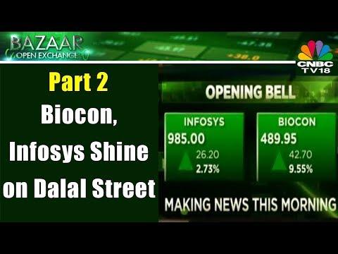 Biocon, Infosys Shine on Dalal Street  | 4th Dec | Bazaar Open Exchange (Part 2)