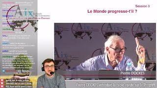 #REAix2017 Le monde progresse-t-il ? + Interview Emmanuelle Quiles, PDG de Janssen