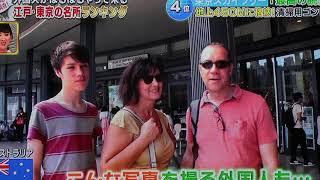 平成30年7月7日、テレビ朝日系番組 ニッポン視察団 でスカイツリーの天...