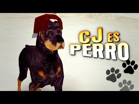 CJ ES PERRO EN GTA SAN ANDREAS