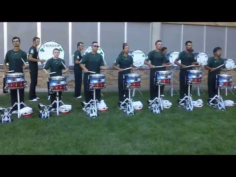 Pioneer (Drumline) Show of Shows (July 7, 2017) Boylan Catholic High School - Rockford, IL - USA
