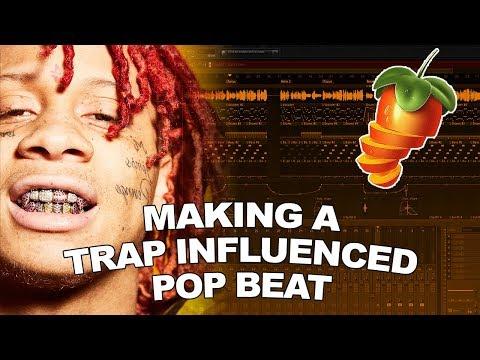 MAKING A TRAP INFLUENCED POP BEAT! | FL Studio Tutorial