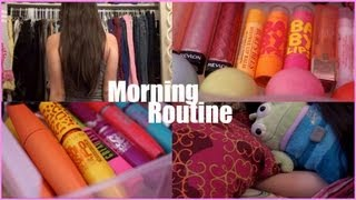 funny morning routine for school   makeup collection 2013