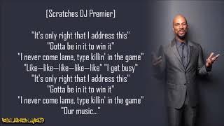 Common - The Game (Lyrics)