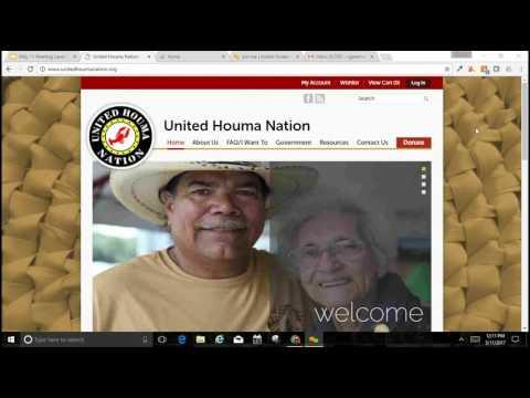 Lanor Curole United Houma Nation