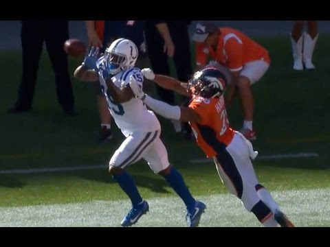 Phillip Dorsett 30 Yard Reception || Week 2 Colts at Broncos