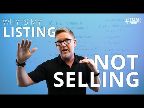 Why is My Listing Not Selling? - The Re-list Strategy   #TomFerryShow Episode 115