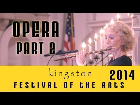 Eugenia Zukerman, flutist and Louis Menendez, pianist- three opera arias for flute and piano