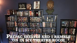 Prepac Shelves Sort Of Review Plus I Ramble About My Theatre Room