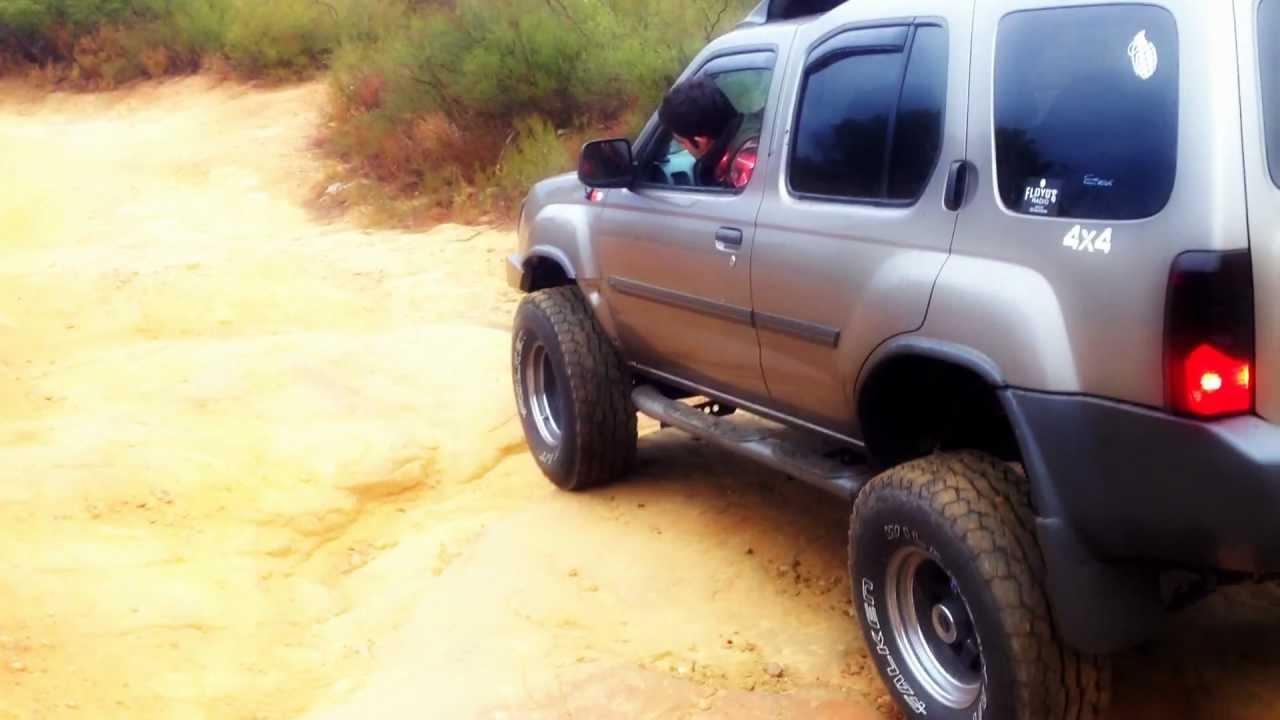Lifted Nissan Xterra >> 2003 lifted 4x4 Xterra off road - YouTube