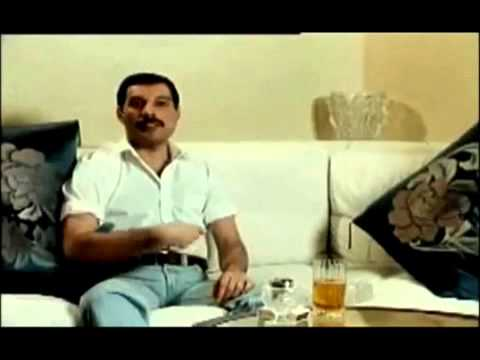 Freddie Mercury - in his own worlds