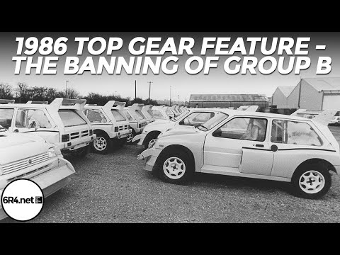 1986 Top Gear Feature - The Banning Of Group B Rallying