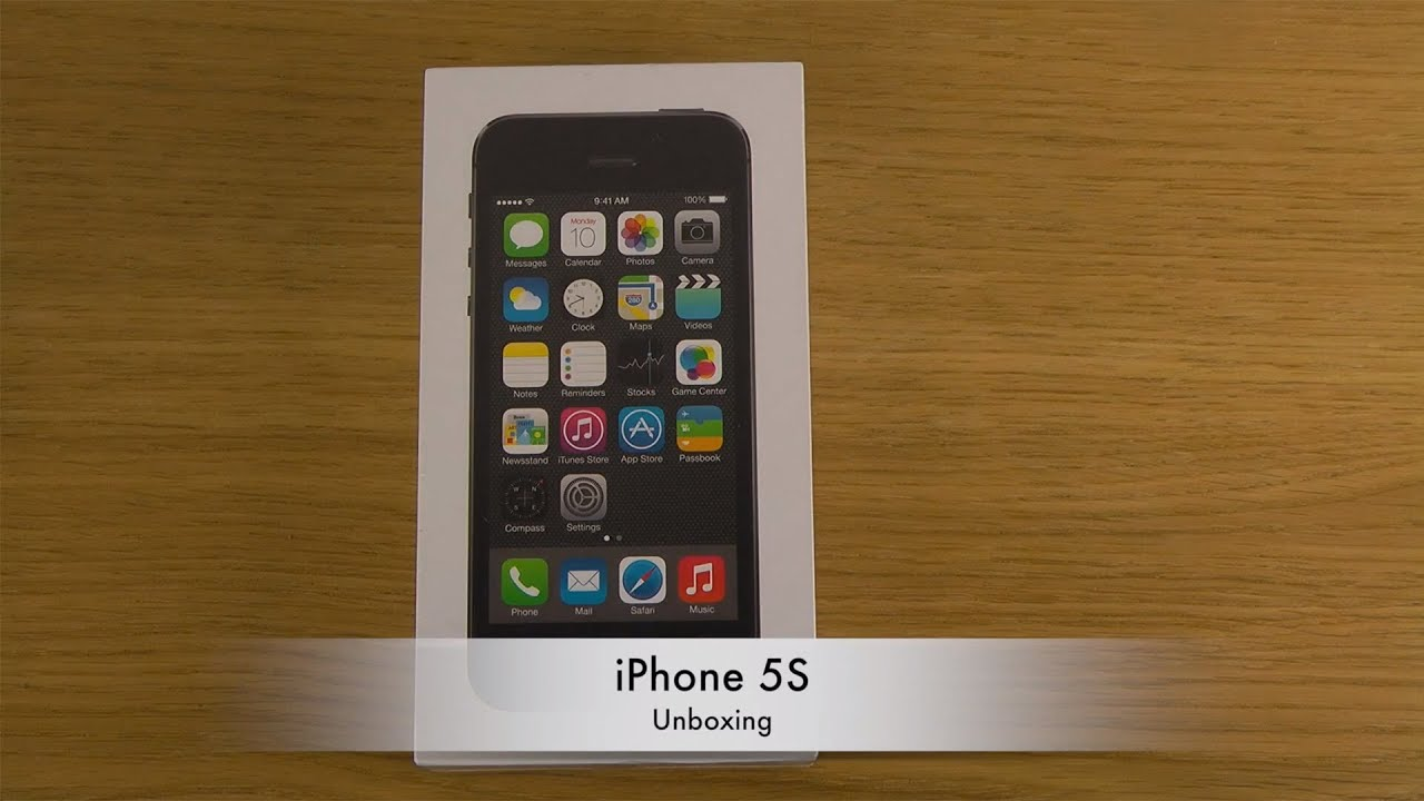 iPhone 5S - Unboxing - YouTube