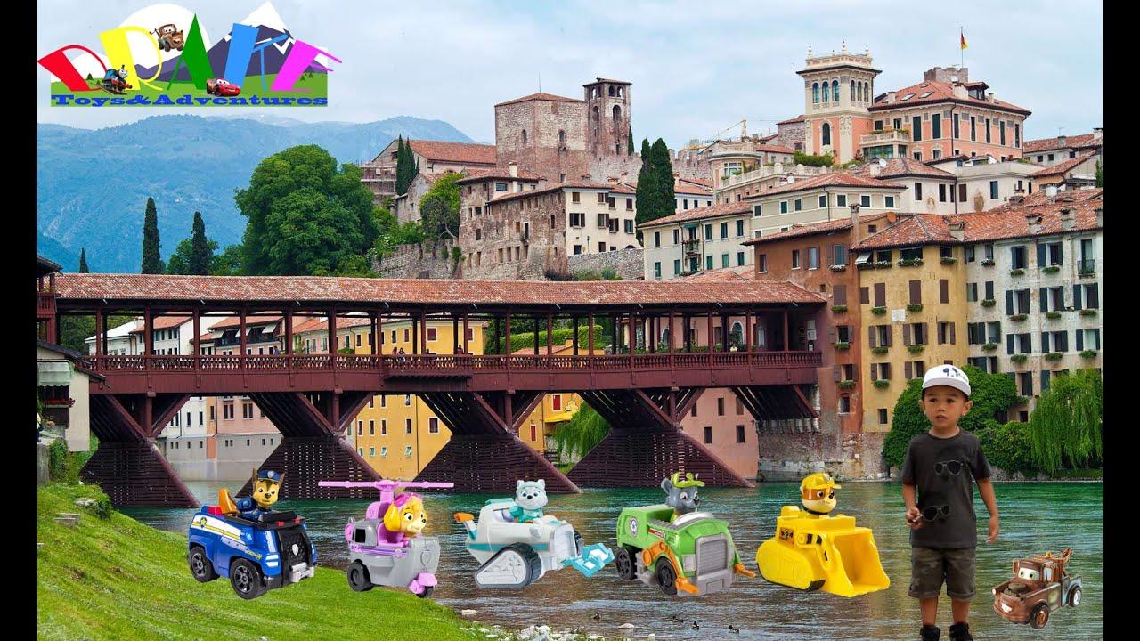 To the city of bassano del grappa italy ft tow mater and - Piscine termali bassano del grappa ...