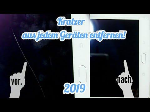 Jeden Kratzer Aus Display Entfernen Ohne Tausch - NEUE METHODE