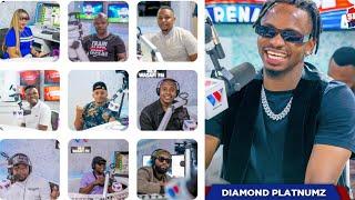 DIAMOND Avunja Record/Awaajiri Wafanyakazi 20 Maarufu africa/Lilyomy, Kitenge,  Dida, Bilioni zatum.
