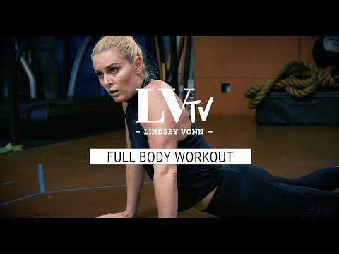 My Full Body Workout | Circuit Training | Lindsey Vonn