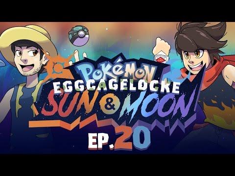 """""""TOO MANY GHOSTS - CAGEMATCH"""" Pokémon Sun and Moon EggLocke CageLocke - EP20 w/ MunchingOrange"""