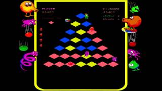 Q*bert Rebooted Classic - Levels 1-4 Basic Strategy
