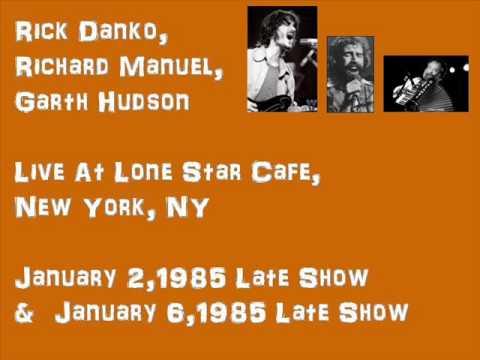 R.Danko, R.Manuel, G,Hudson  J. Pastorius  J.Kaukonen  at  Lone Star Cafe1985
