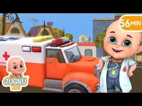 Rescue Toys Ambulance - Kids toys unboxing kindergarten  - Surprise Eggs Toys from Jugnu Kids