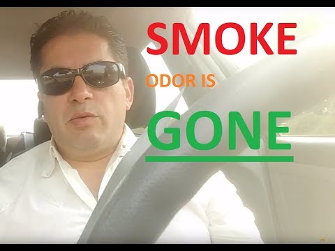 THIS WORKS!!! How to Remove Smoke Oder From Your Car, Easy Proven Method, NO HYPE