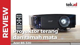 Review Proyektor Acer BS-320: Presentasi oke, nonton film oke