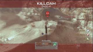 Modern warfare 2: INSANE Knife Throw Killcam