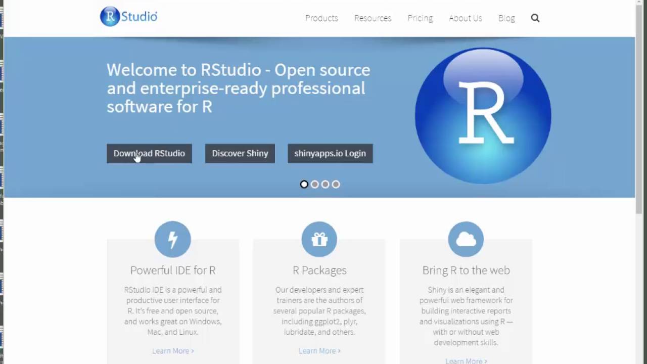 Step by Step: Downloading R and R-Studio | UN-SPIDER Knowledge Portal