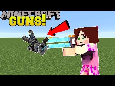 Minecraft: SHOOTING GUNS!!! - Animation