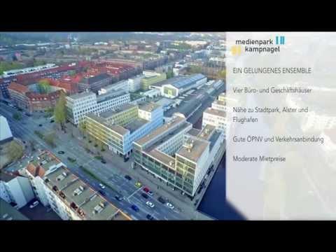 Arbeiten am Fleet im Medienpark Kampnagel in Hamburg Winterhude
