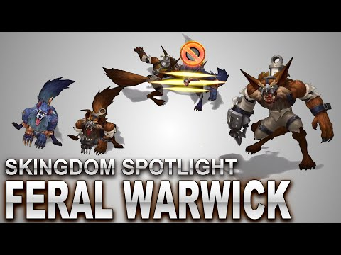 Feral Warwick Skin Spotlight | SKingdom - League of Legends | Compare