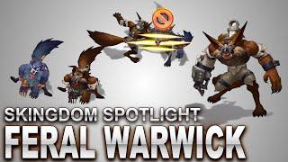 Feral Warwick Skin Spotlight | SKingdom - League of Legends | Compare