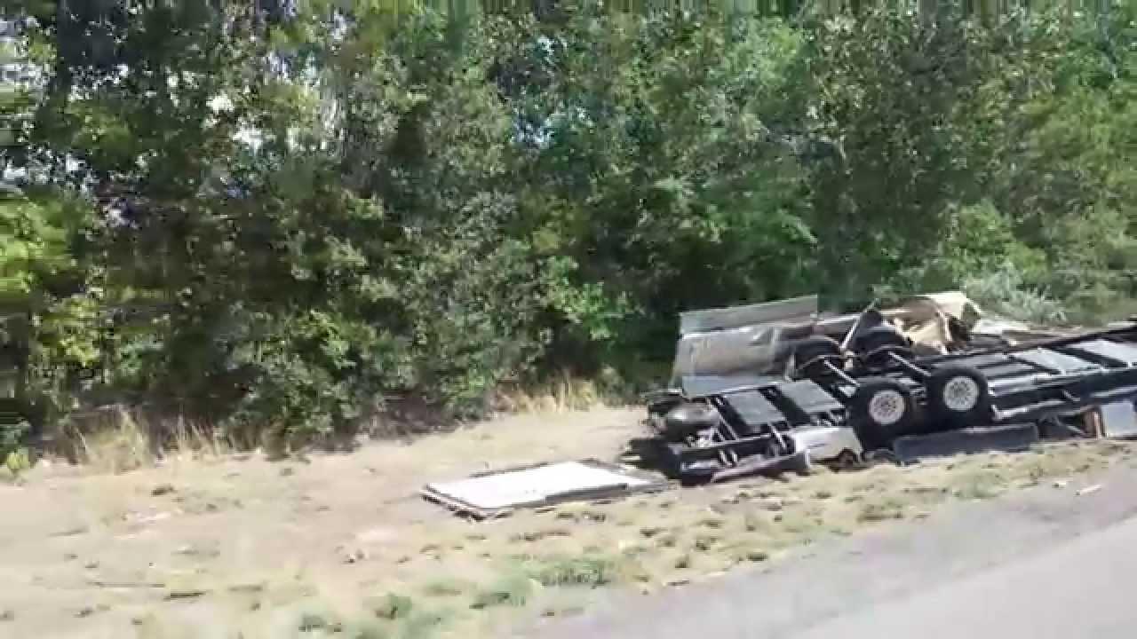 Bumper Pull Toy Hauler Wreck Youtube
