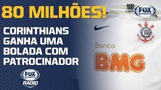 Corinthians tem novo patrocinador uniforme já totaliza quase R$80 milhões!