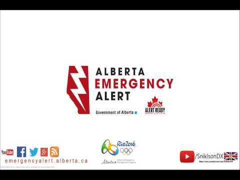 Alberta Emergency Alert - Sun Jul 03 8:52 PM 2016