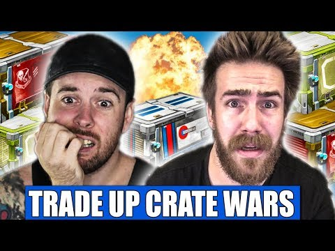 TRADE UP CRATE WARS ARE EXTREMELY FUN! (POSSIBLE NEW SERIES)
