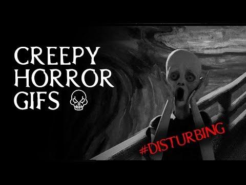 Creepy Horror .gifs Compilation *** Disturbing VIDEO ***