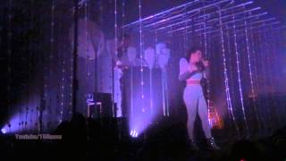 "Purity Ring -LIVE- ""Push Pull"" @Berlin April 13, 2015"