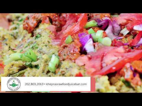 Khepra's Raw Food Juice Bar | Organic Foods in Washington DC