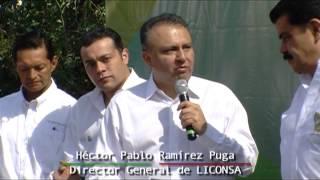 Inaguración de nueva lechería en Mineral del Chico Hidalgo