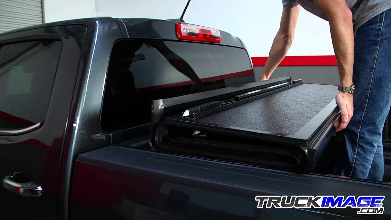 Gator Fx3 Hard Folding Tonneau Cover Install On 2015 Chevy