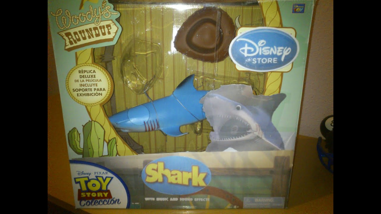 Shark Toy Box : Toy story collection shark youtube