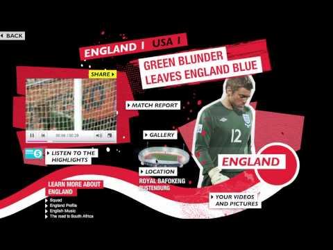 BBC World Cup Tracker 2010